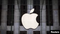 蘋果公司標記。