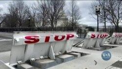 Поліція Капітолію повідомила про загрозу нового нападу на будівлю Конгресу 4 березня. Відео