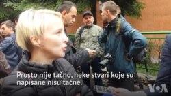 Marija Arnautović, novinarka Slobodne Evrope: Nije tačno da smo vrijeđali policiju