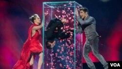Fərid Məmmədov Eurovision-2013-wn finalında