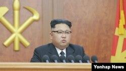 김정은 북한 국방위원회 제1위원장이 지난 1일 새해를 맞아 신년사를 발표했다.