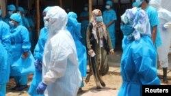 Cox's bazar စခန္းရွိ က်န္းမာေရး ၀န္ထမ္းမ်ား