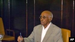 Aristides Pereira, primeiro Presidente de Cabo Verde.