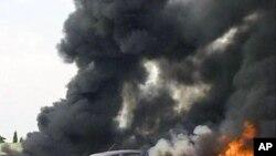 Explosion d'une bombe à un poste de police au Nigéria