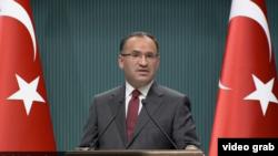 Wakil Perdana Menteri Turki Bekir Bozdag(Photo: VOA/Videograb)