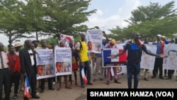 CHADIANS PROTEST