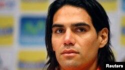 Radamel Falcao, marcó nueve goles en 13 partidos durante las eliminatorias.