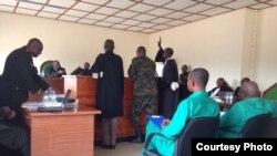 Tribunal militaire, Kigali, Rwanda