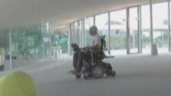 Brain-controlled wheelchair at École Polytechnique Fédérale de Lausanne