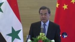 中国重申叙利亚政治解决三原则