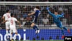 دیدار تیم های ملی فوتبال ایران و جاپان در جام ملت های آسیا