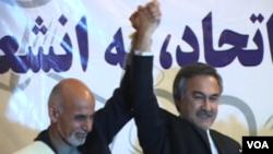 محمد داود سلطان زوی او اشرف غني احمدزی