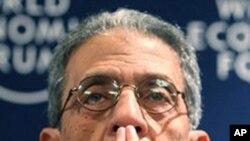 阿拉伯联盟秘书长穆萨(资料照片)