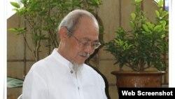 Nhà văn Phạm Thành, Photo Facebook Nguyễn Nghiêm.