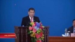 Tổng thống Philippines tuyên bố 'ly khai' với Mỹ