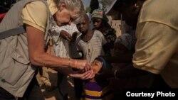 Kungiyar Rotary tana gudanar da aikin rigakafin cutar Polio a Kaduna, Najeriya (Rotary International)