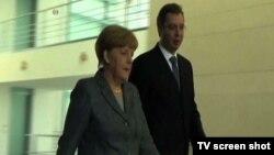 Nemačka kancelarka i srpski premijer u Berlinu, 7. septembar 2015.