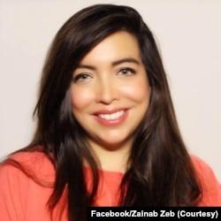 زینب زیب ، افغان نژاد امریکی ہیں۔