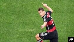 Miroslav Klose ha marcado 16 goles en mundiales desde su primera Copa del Mundo, en 2002.