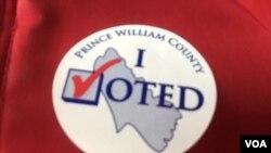Ảnh Tư liệu: 'Tôi đã bỏ phiếu'