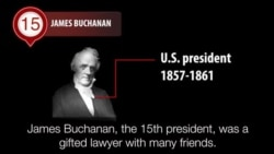 America's Presidents - James Buchanan