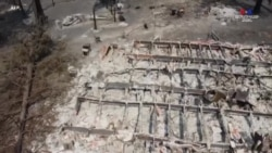 Կալիֆոռնիայի հյուսիսի Բերրի Քրիք փոքր քաղաքն ամբողջությամբ այրվել է անտառային հրդեհների հետևանքով. նկարահանում դրոնից