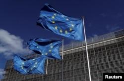 벨기에 브뤼셀의 유럽연합(EU) 본부.