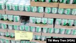 Giá Coco Rico 6 lon tăng lên gấp đôi tại siêu thị