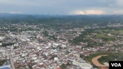 FILE - Loei provincial city, Thailand, is shown on July 23, 2016. (Neou Vannarin/VOA Khmer)