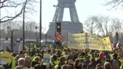 """2019-02-18 美國之音視頻新聞: 法國政界譴責有""""黃背心""""抗議者發表反猶言論"""