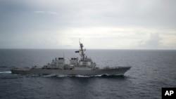 Tàu khu trục USS Decatur của Hoa Kỳ.
