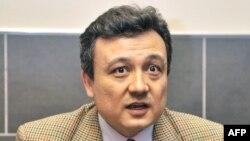 Nhà hoạt động người Uighur Dolkun Isa.