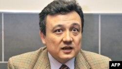 世界维吾尔大会秘书长多力坤·艾沙(2008年资料照片)