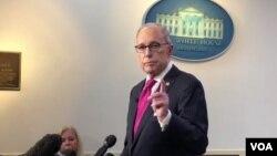 Larry Kudlow, asesor económico de la Casa Blanca. Foto de archivo.