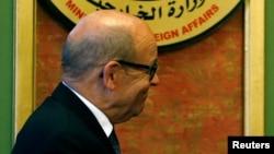 Le ministre français des Affaires étrangères Jean-Yves Le Drian, 8 juin 2017.