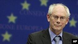 Херман ван Ромпуј во посета на Македонија