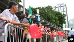 香港七一大遊行。