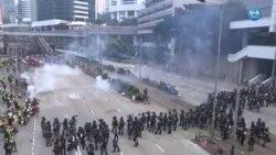 Hong Kong'da Çatışmalar Büyüdü