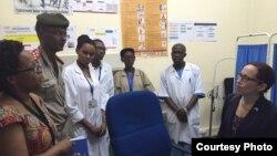 Mu buryo, Ambasaderi Anne Casper aserukira Reta Zunze Ubumwe za Amerika mu Burundi