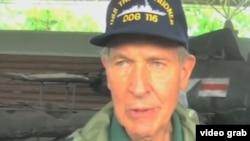 88岁高龄的退役海军上校哈德纳