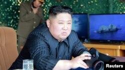 Lider Severne Koreje Kim Džong Un