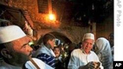 巴勒斯坦人开始欢庆斋月