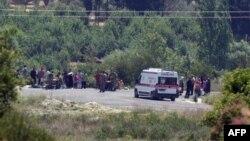 Сирийские беженцы на турецкой территории