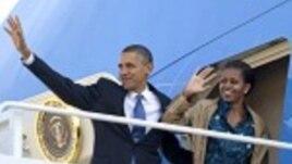 Shugaban Amurka Obama A Kan Hanyarsu zuwa Asiya