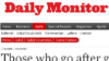 Uganda's 'Daily Monitor' Editor: Threat to Gay Rights a Threat to National Justice