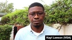 Aristide Mensah, parent, Lomé, le 24 août 2019. (VOA/Kayi Lawson)