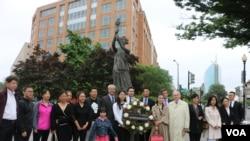人权团体在华盛顿举行六四纪念活动