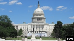 资料照:美国国会大厦(美国之音记者李逸华拍摄)