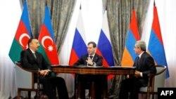 Սոչիում կայացել է Հայաստանի, Ռուսաստանի և Ադրբեջանի նախագահների հանդիպումը