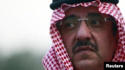 FILE - Saudi Arabia Crown Prince Prince Mohammed bin Nayef bin Abdul Aziz.